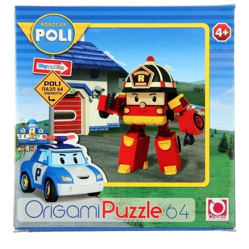 Купить Пазл Origami Robocar Poli Рой (05886), 64 дет., Пазлы