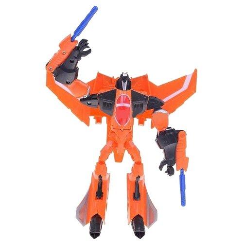Купить Трансформер Shantou Gepai Changeable Robot 3001-9 оранжево-черный, Роботы и трансформеры