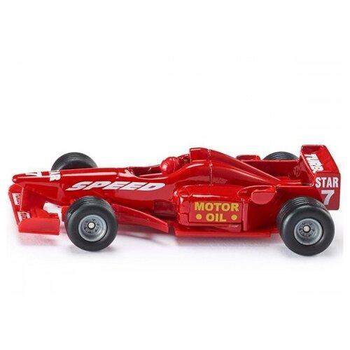 Легковой автомобиль Siku гоночный (1357) 1:55 7.5 см красный