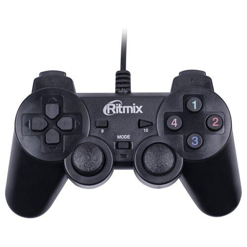 Геймпад Ritmix GP-005 черный геймпад проводной ritmix gp 035bth черный [80000202]