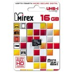 Карта памяти Mirex microSDHC Class 10 UHS-I U1