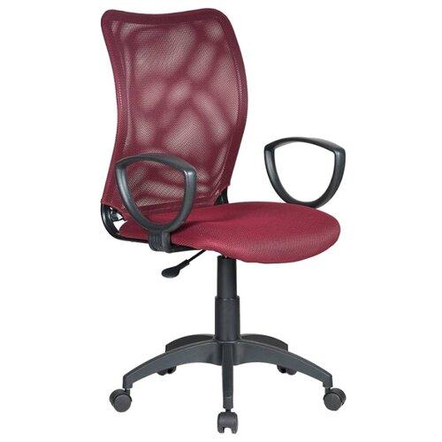 Компьютерное кресло Бюрократ CH-599AXSN офисное, обивка: текстиль, цвет: бордовый TW-13N