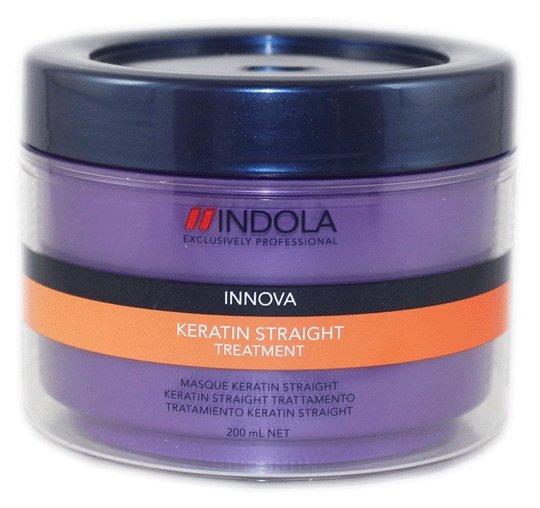 Indola Innova Keratin Straight Маска для волос Кератиновое выпрямление