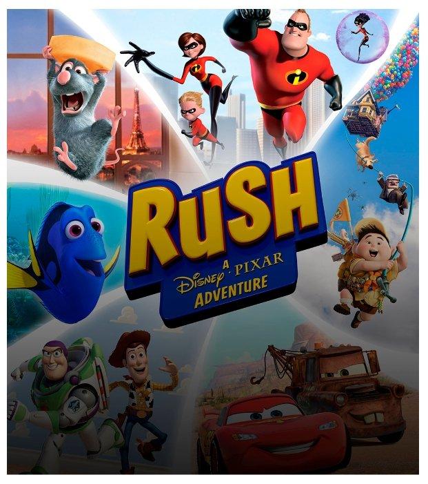 Microsoft Kinect Rush: A Disney–Pixar Adventure