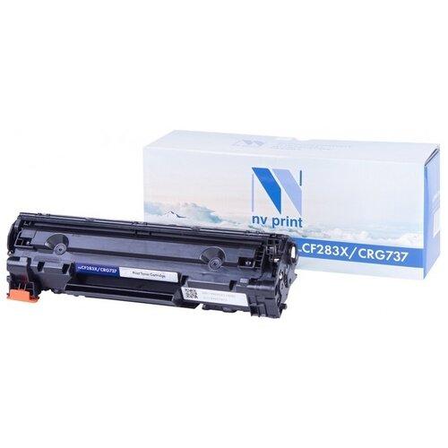 Картридж NV Print CF283X/737 для HP и Canon, совместимый
