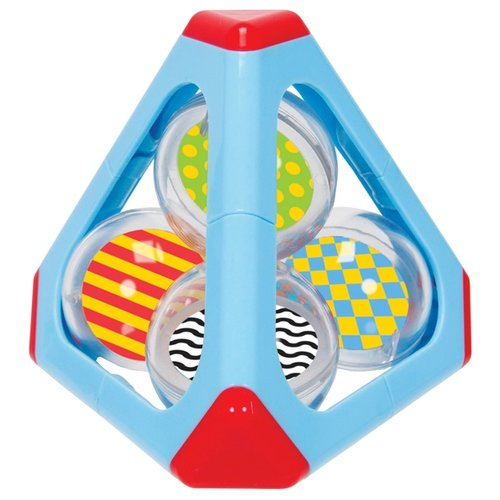 Купить Погремушка Simba ABC Пирамида с шарами голубой, Погремушки и прорезыватели