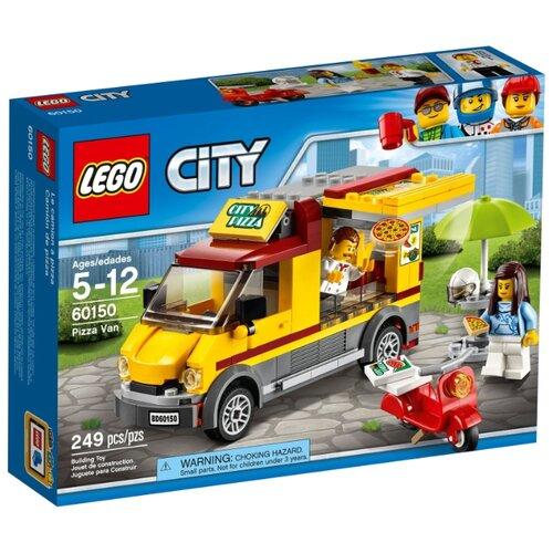 Конструктор LEGO City 60150 Пиццерия на колесах конструктор lego duplo 10834 пиццерия