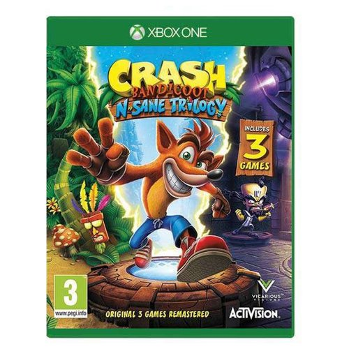 Игра для Xbox ONE Crash Bandicoot N-Sane Trilogy