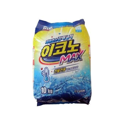 Стиральный порошок Lion Beat Econo Max, пластиковый пакет, 10 кг стиральный порошок lion beat econo max пластиковый пакет 10 кг