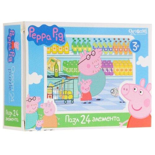 Купить Пазл Origami Peppa Pig (01594) в ассортименте, 24 дет., Пазлы