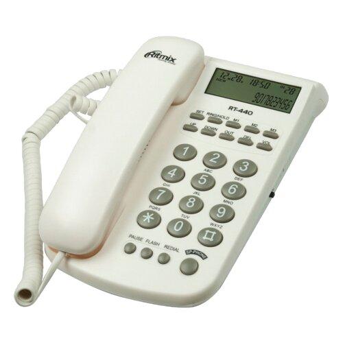 Купить Телефон Ritmix RT-440 белый