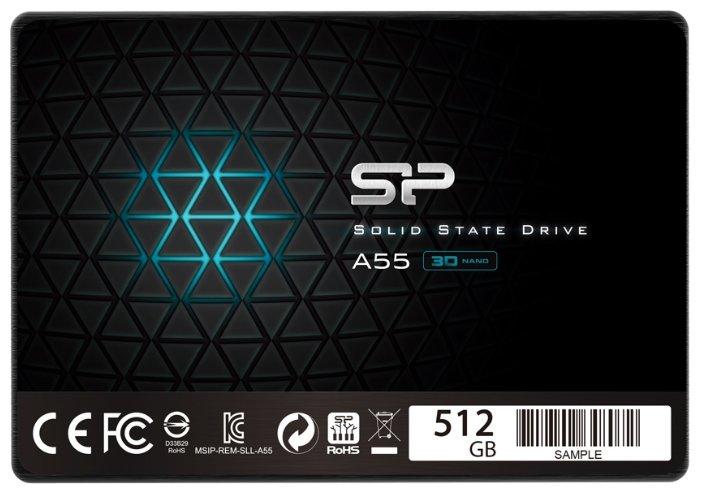 Твердотельный накопитель Silicon Power Ace A55 512GB