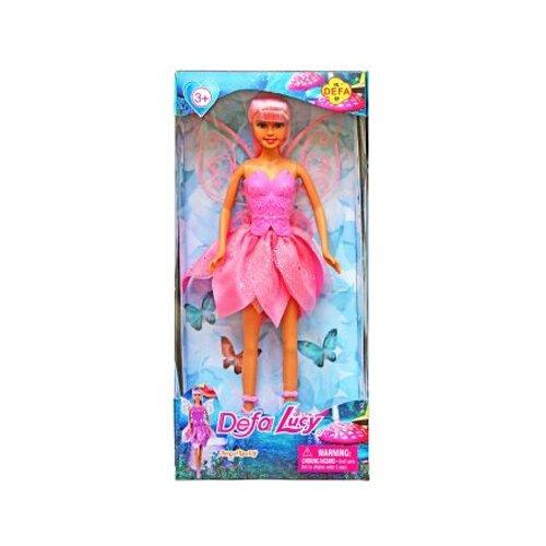 Купить Кукла Defa Lucy Фея 29 см 8324pink, Куклы и пупсы