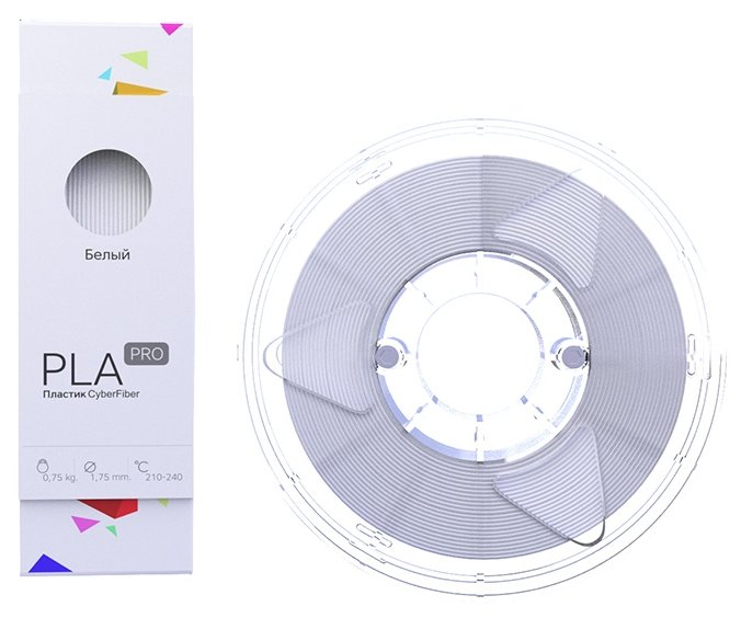 PLA PRO пруток Cyberon 1.75 мм белый