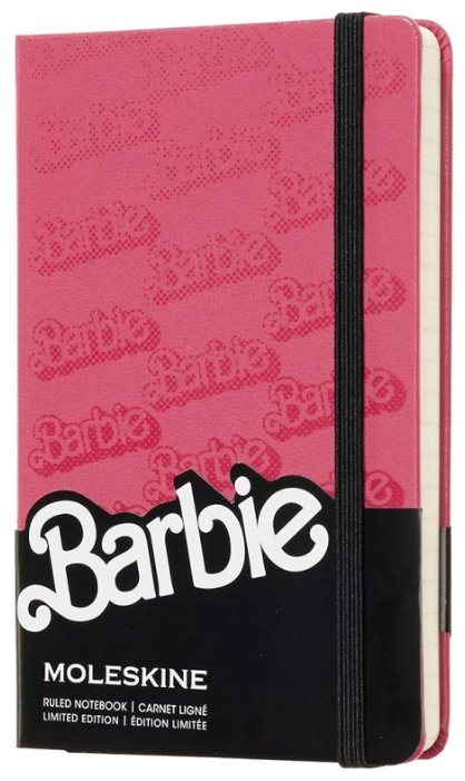 Блокнот Moleskine Barbie 90x140, 96 листов 1028521(LEBRMM710)