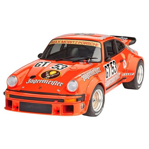 Фото - Сборная модель Revell Porsche 934 RSR Jägermeister (67031) 1:24 сборная модель revell porsche 356 cabriolet 07043 1 16