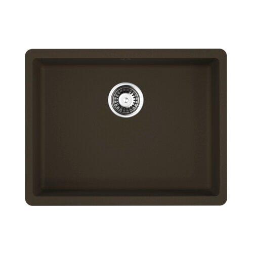 Врезная кухонная мойка 54 см OMOIKIRI Kata 54-U 4993409 темный шоколад