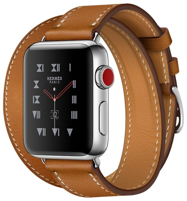 Часы Apple Watch Hermes Series 3 38mm with Double Tour