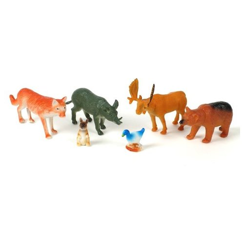 Купить Фигурки Играем вместе Рассказы о животных Лесные животные S47-06, Игровые наборы и фигурки