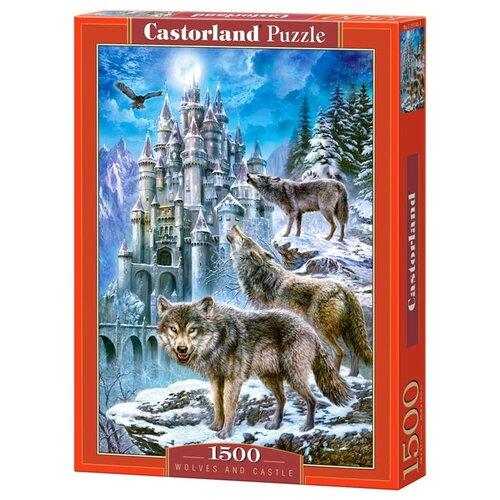 Купить Пазл Castorland Wolves and Castle (C-151141), 1500 дет., Пазлы