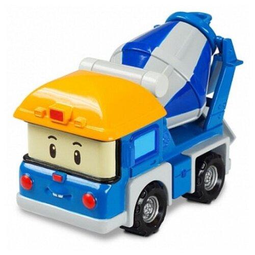 Купить Бетономешалка Silverlit Робокар Поли Микки (83256) 6 см синий/серый/желтый, Машинки и техника