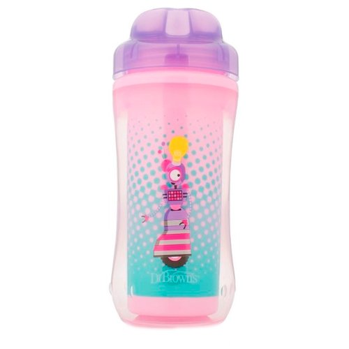 Термочашка Dr. Brown's Spoutless Insulated Cup, 300 мл фиолетовый робот термос термочашка oneday od b08