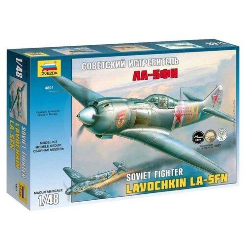 Купить Сборная модель ZVEZDA Советский истребитель Ла-5ФН (4801PN) 1:48, Сборные модели