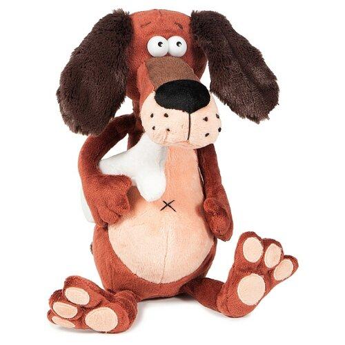 Купить Мягкая игрушка Maxitoys ДуRашки Пёс & Kostochka 25 см, Мягкие игрушки
