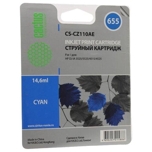 Купить Картридж cactus CS-CZ110AE 655, совместимый