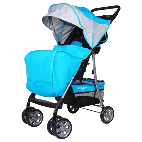 Купить Прогулочная коляска Baby Care Shopper голубой, Коляски