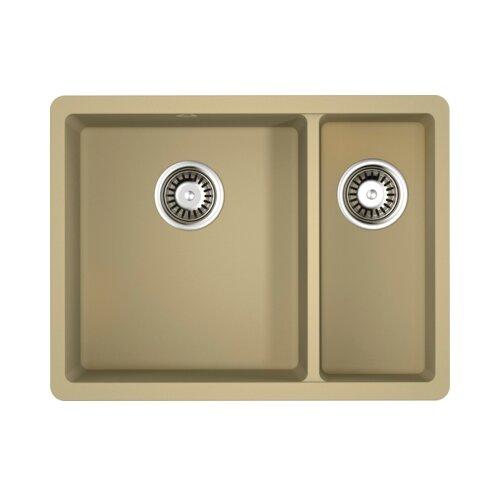 Врезная кухонная мойка 55 см OMOIKIRI Kata 55-2-U 4993384 марципан