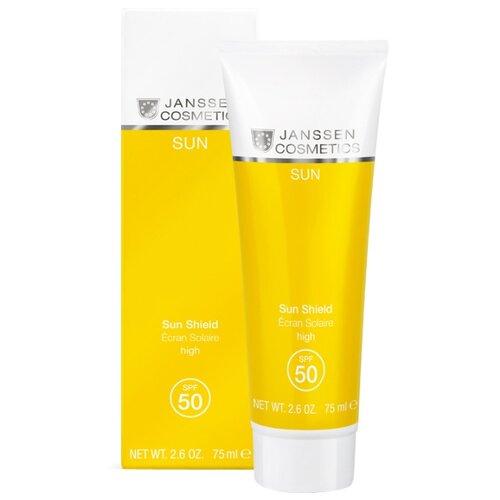 Janssen Cosmetics Солнцезащитная эмульсия для лица и тела SPF 50 75 мл janssen cosmetics эмульсия очищающая mild creamy cleanser 200 мл