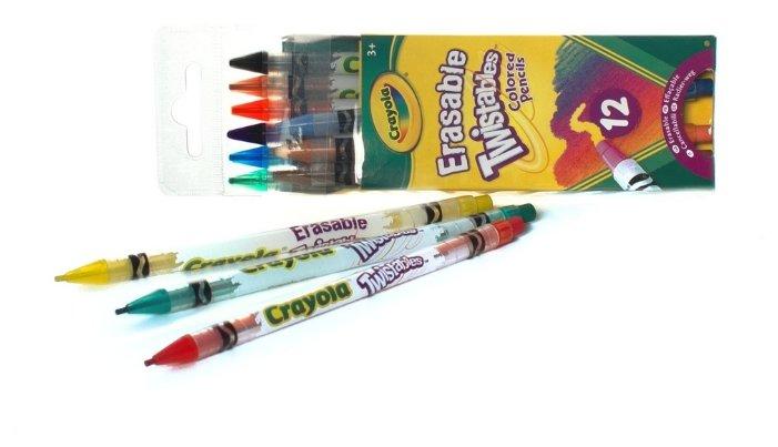 Crayola Цветные карандаши выкручивающиеся 12 цветов (68-7508)