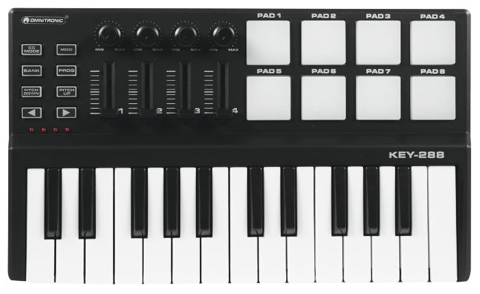 MIDI-клавиатура Omnitronic Key-288