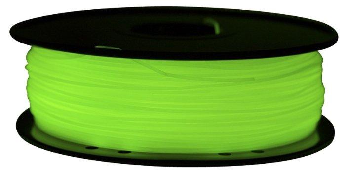 ABS пруток FL-33 1.75 мм зеленый светящийся
