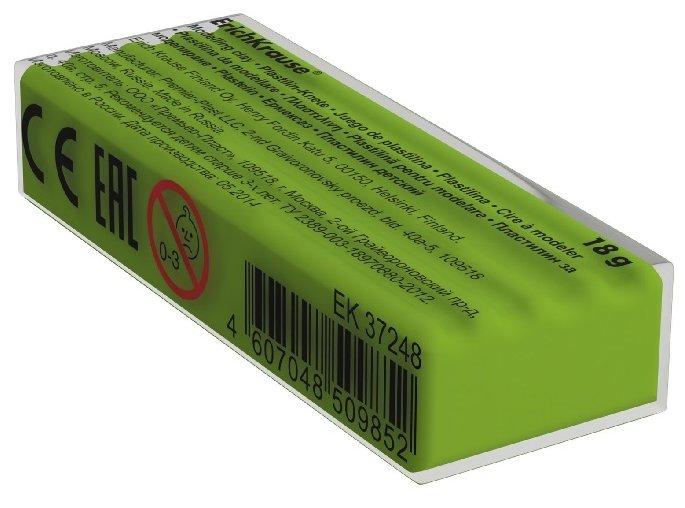 Пластилин ErichKrause Классический салатовый 18 г (37261)