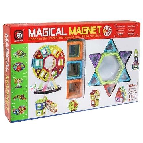 Купить Магнитный конструктор Xinbida Magical Magnet 703-52 Колесо обозрения, Конструкторы