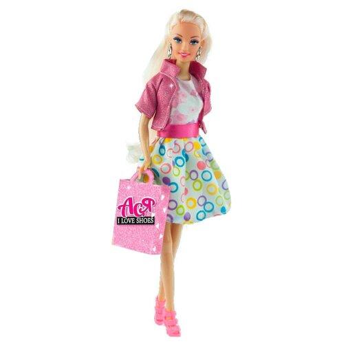 Купить Кукла Toys Lab Ася A-Style Блондинка в платье с принтом, 28 см, 35082, Куклы и пупсы