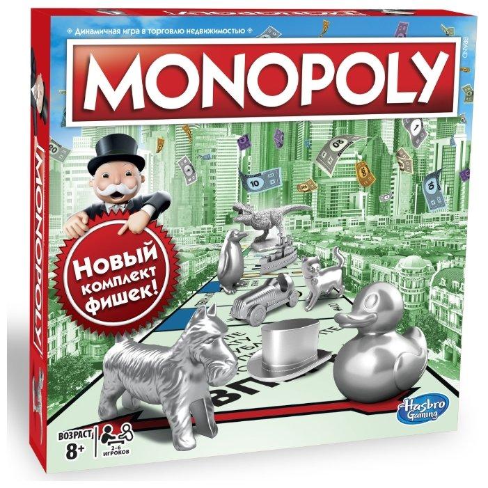 Настольная игра Hasbro games Monopoly Классическая (обновленная)