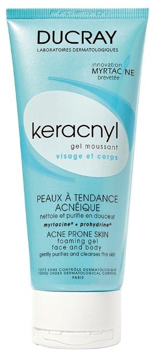 Ducray Keracnyl Очищающий гель Gel Moussant
