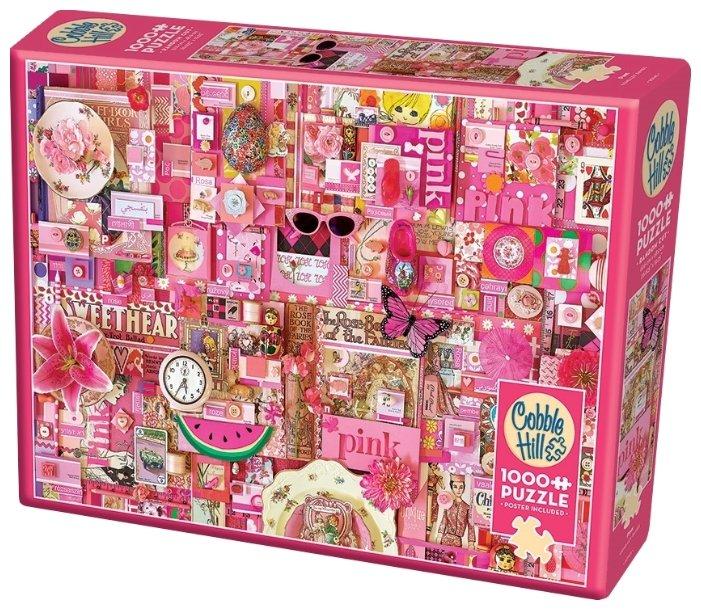 Пазл Cobble Hill Розовый (51860), 1000 дет.