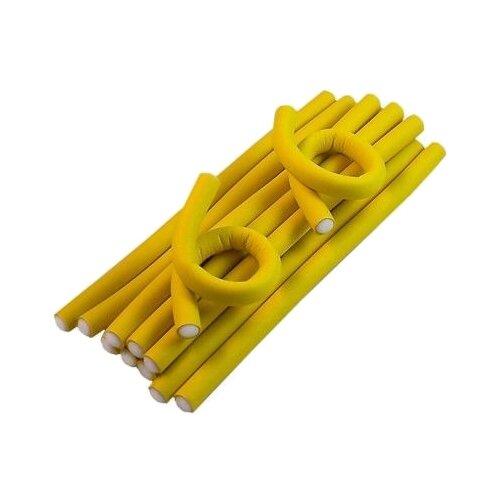 Фото - Бигуди-бумеранги Sibel Superflex Short 4222119 (12 мм) 12 шт. желтый мягкие бигуди sibel foam 4251933 34 мм 5 шт желтый