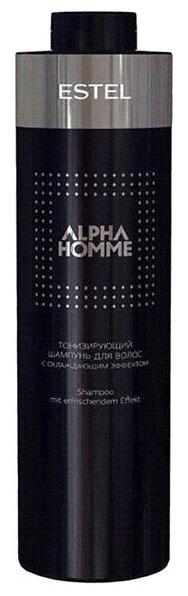 ESTEL шампунь Alpha Homme тонизирующий с охлаждающим эффектом — купить по выгодной цене на Яндекс.Маркете