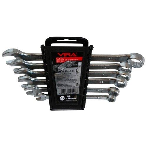 Набор гаечных ключей Vira (6 шт.) 510106Наборы инструментов и оснастки<br>