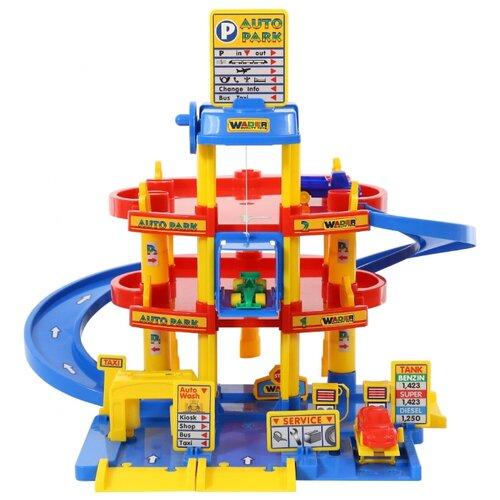 Купить Wader Паркинг 37893, Детские парковки и гаражи