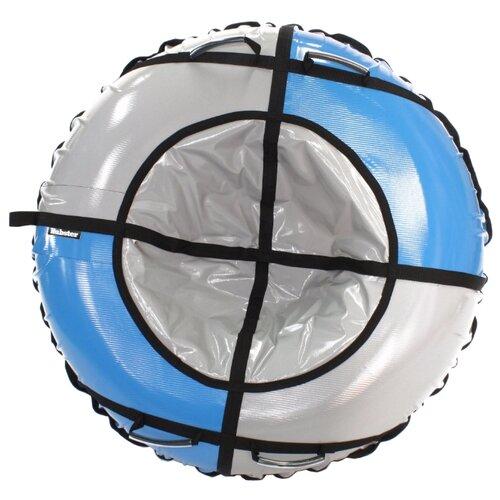 Тюбинг Hubster Sport Plus 105 см серый/синий