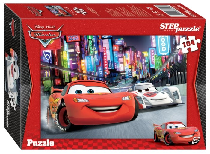 Пазл Step puzzle Disney Тачки (82109), 104 дет.