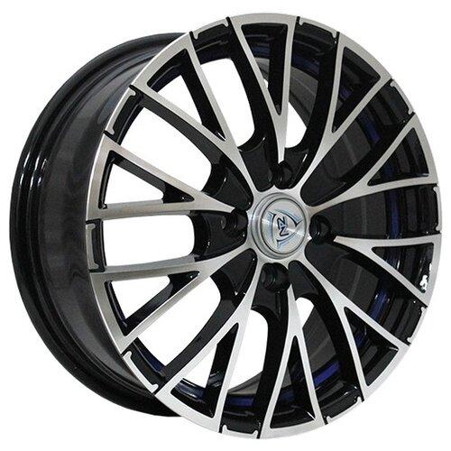 Фото - Колесный диск NZ Wheels F-2 6.5x16/4x100 D54.1 ET52 BKFBSI колесный диск nz wheels sh674 6 5x16 4x100 d54 1 et52 bkf