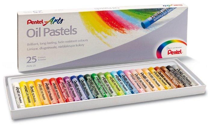 Pentel Пастель масляная Arts 25 цветов (PHN4-25)