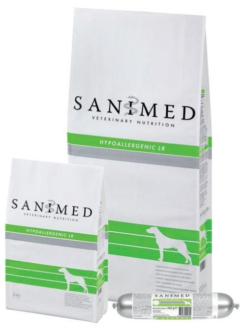 Корм для собак SANIMed Hypoallergenic LR для собак всех пород